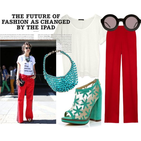 """Fashion Week Street Style"" by disposablemorals on Polyvore"