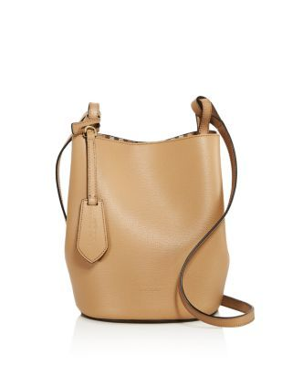 2c8a0e620df1 BURBERRY Lorne Small Leather Bucket Bag.  burberry  bags  shoulder bags   leather  bucket