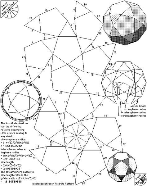 13 Archimedean Solids