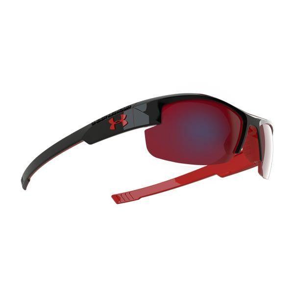 6f6f71b2717b UA Youth Nitro L, Shiny Black Frame w-Red, Gray w-Infrared | glasses ...