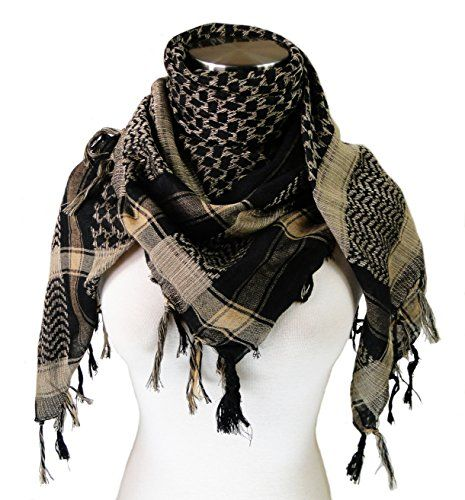keffiyeh how to wear neck