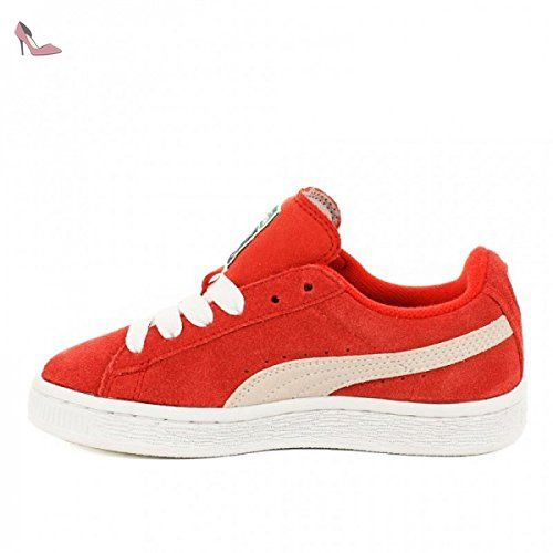 puma suede rouge 39