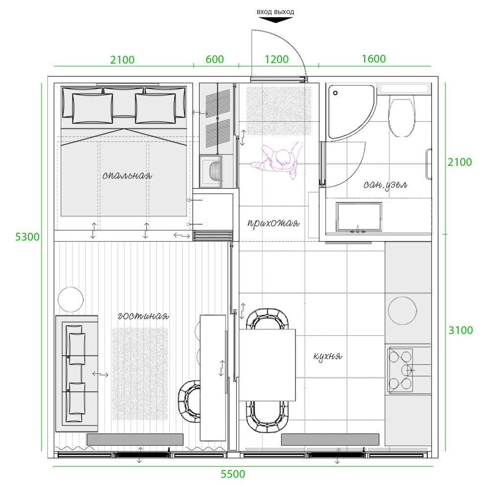 3 Small Spaces Packed With Big Style Includes Floor Plans Small House Design Floor Plans Small House Layout