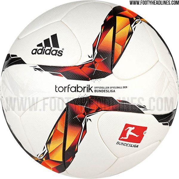 Adidas Torfabrik 15-16 Bundesliga Ball Released - Footy Headlines ... 8ce985e05b041