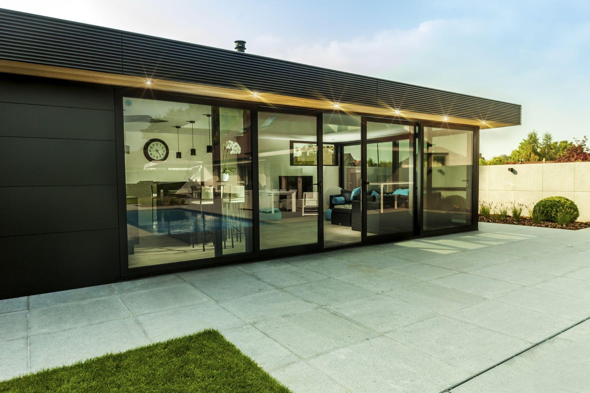 Saving the environment. 🌳 u2022 aluminum façade cladding is also an