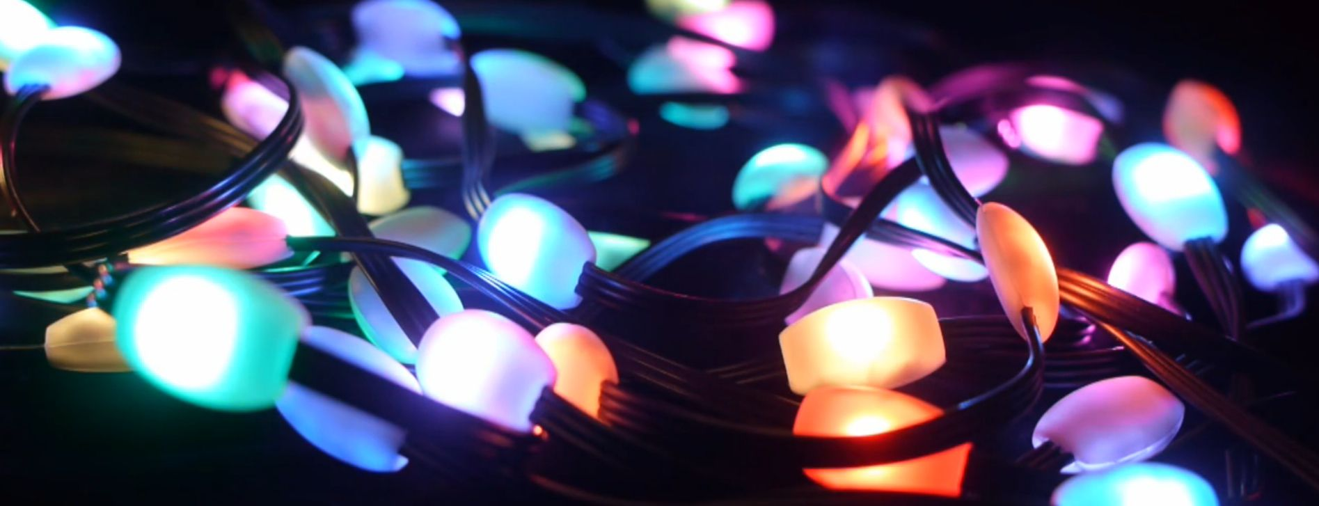 the holiday smart christmas lights from moorescloud take their cue from the likes of the philips hue lightbulb