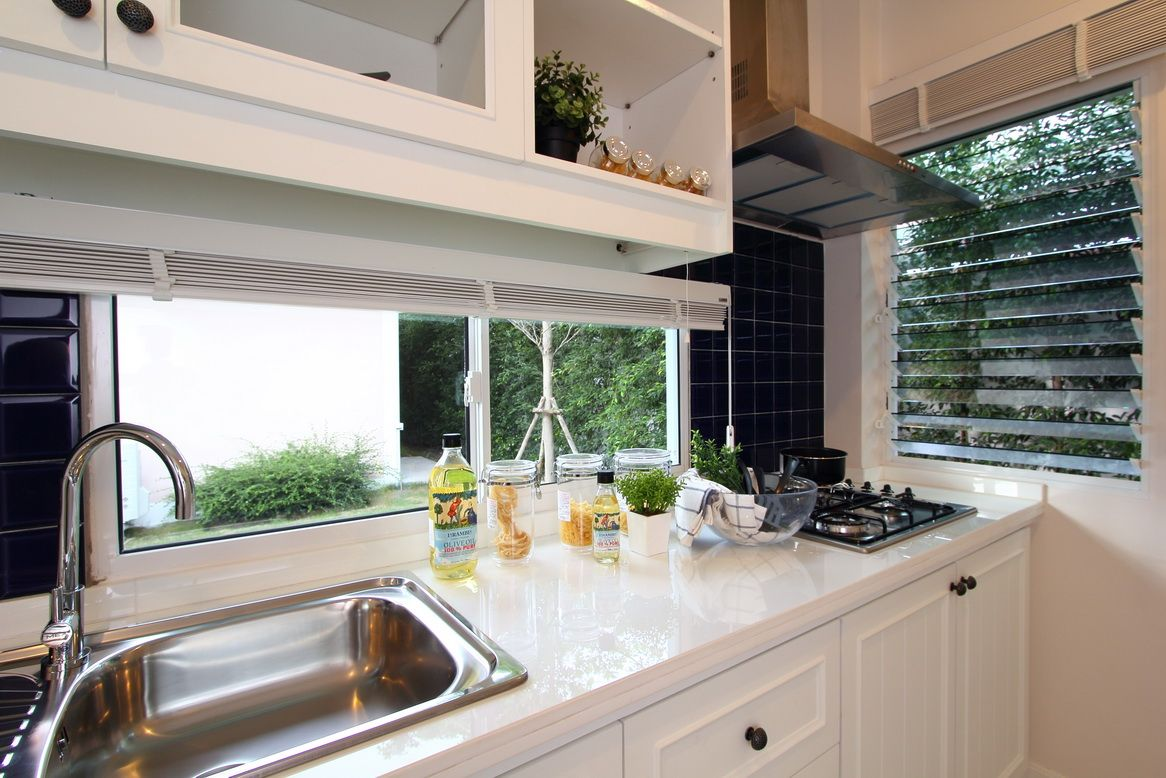 Install Louvres Into Your Kitchen To Let In Natural Light And Fresh Air  #windows # Part 79