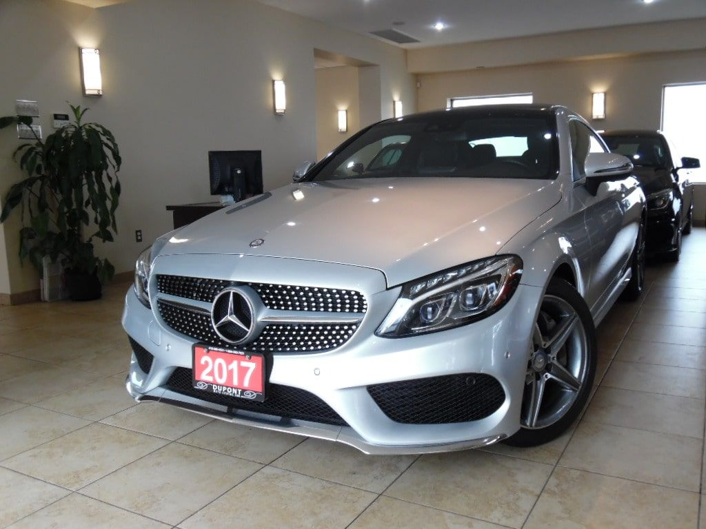 Certified 2017 Mercedes Benz C300 4matic Coupe Amg For Sale