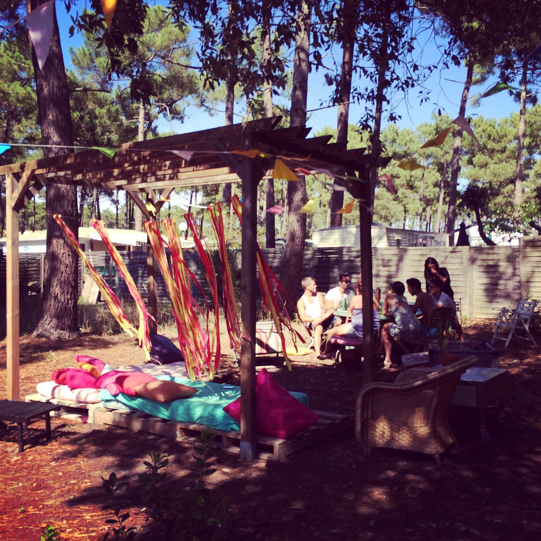 Lacanau Beach garden   DIY Pallet
