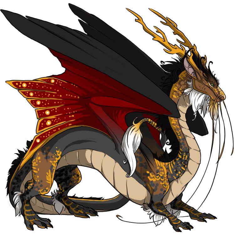картинки императорского дракона готовых работ положительные