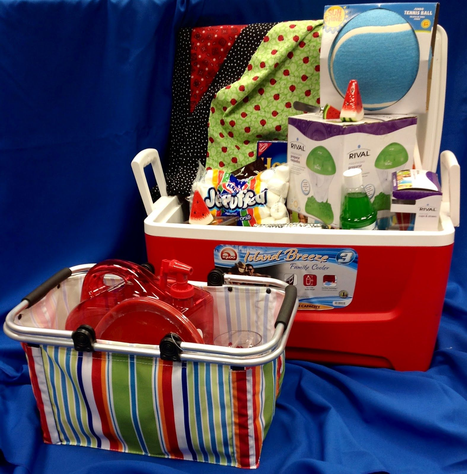 Fundraiser Gift Ideas: Basket Ideas For Raffle - Google Search
