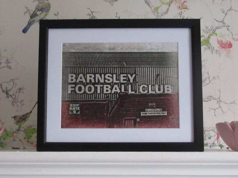 Barnsley Football Club Print (Oakwell) Barnsley, Print