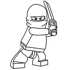 Top 20 Free Printable Ninja Coloring Pages Online  Kids  Pinterest