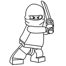 20 Ninja Coloring Pages For Your Little Ones Lego Coloring Pages