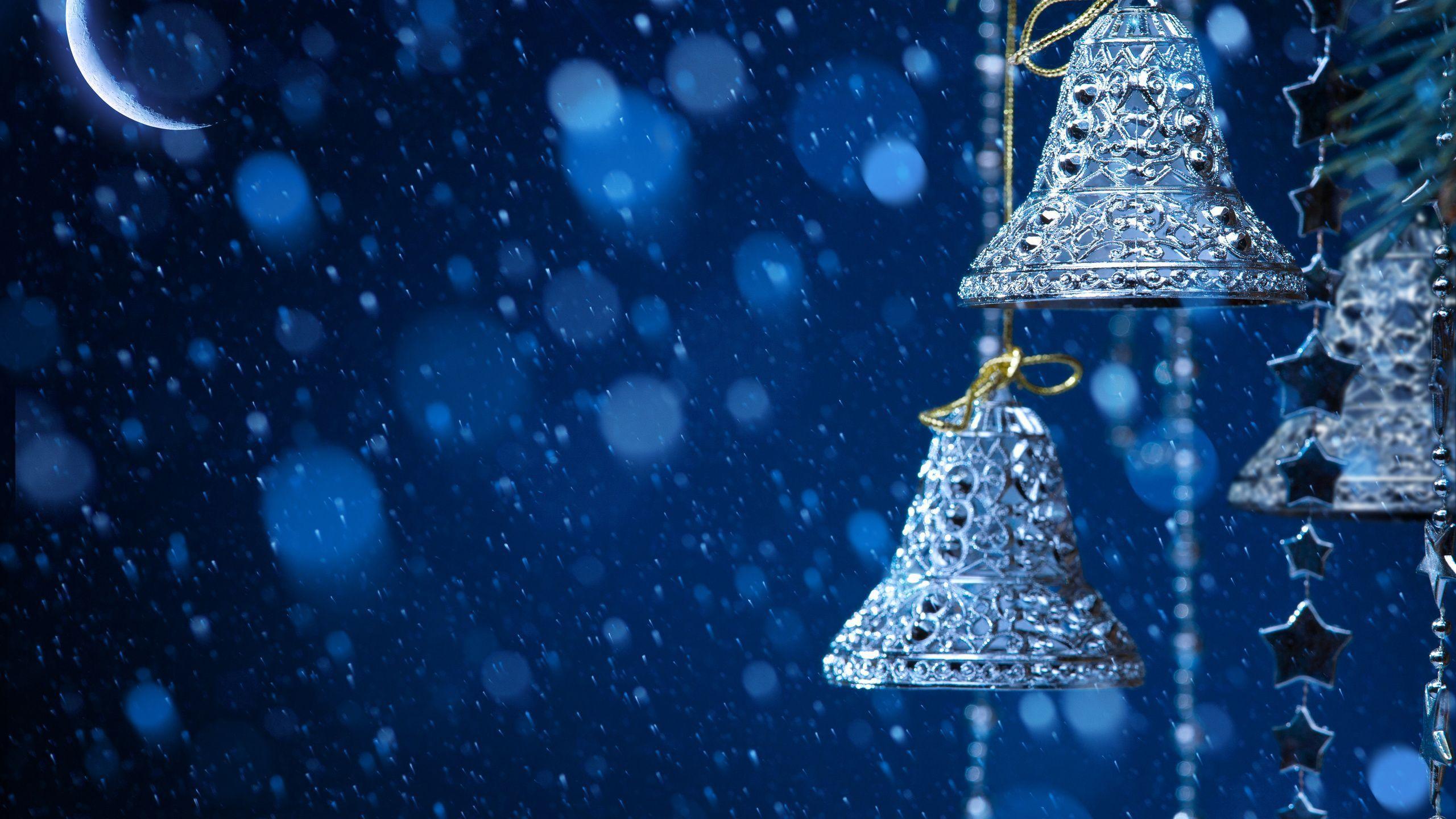 Images For u003e Silver Bells Flower  Snowfall wallpaper, Merry