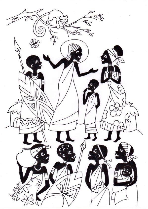 Pin de Vicki Evans en Africa | Pinterest | Africanas, Arte y Arte ...
