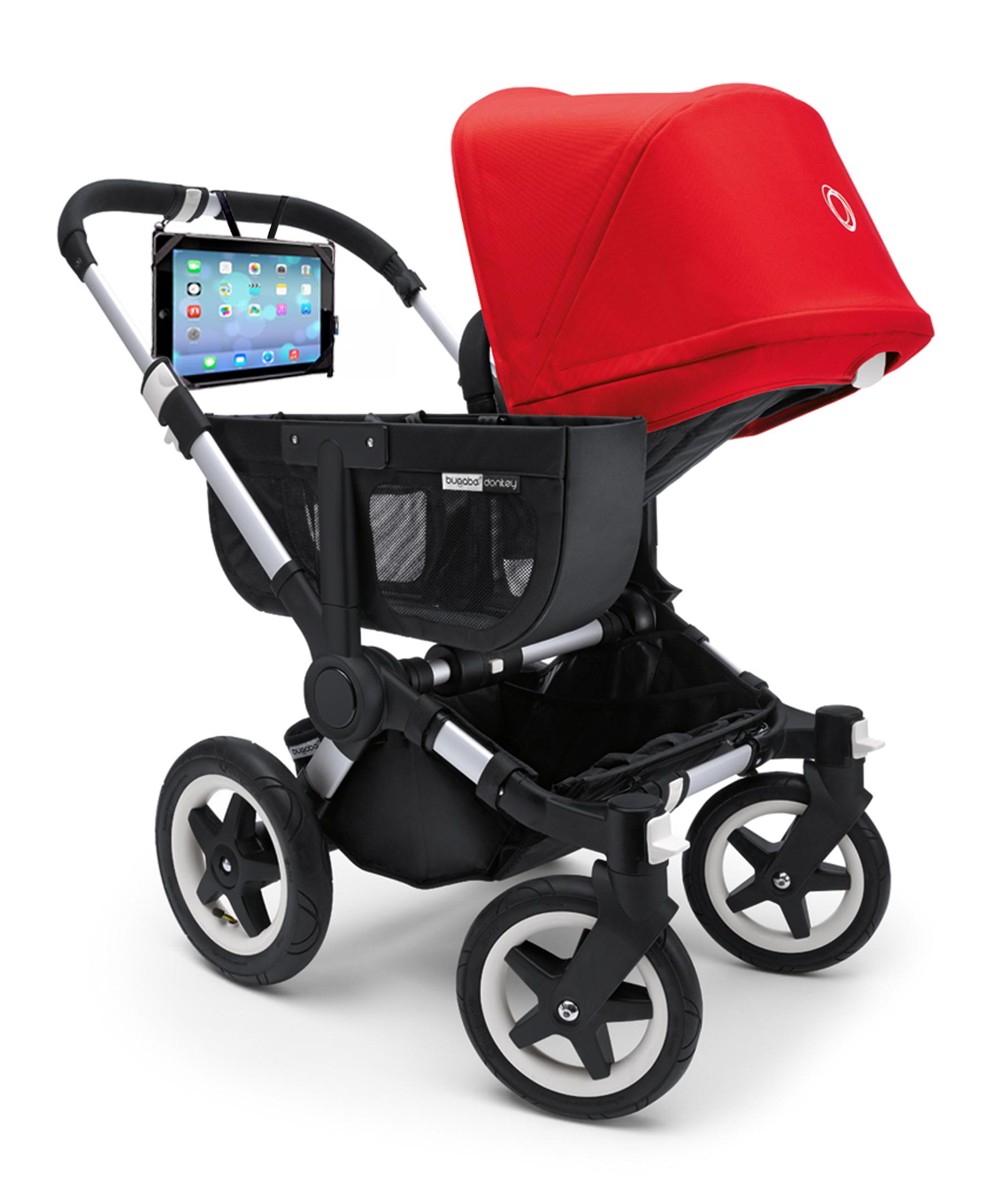 The HighView on a stroller stroller bugaboo ipad