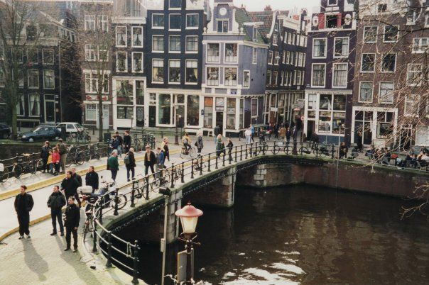 View from my house in Amsterdam, The Netherlands - 1998-2000