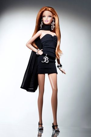 12 Barbie Basics Get Glammed Up By Famous Fashion Designers. (Lorraine Schwartz doll shown)