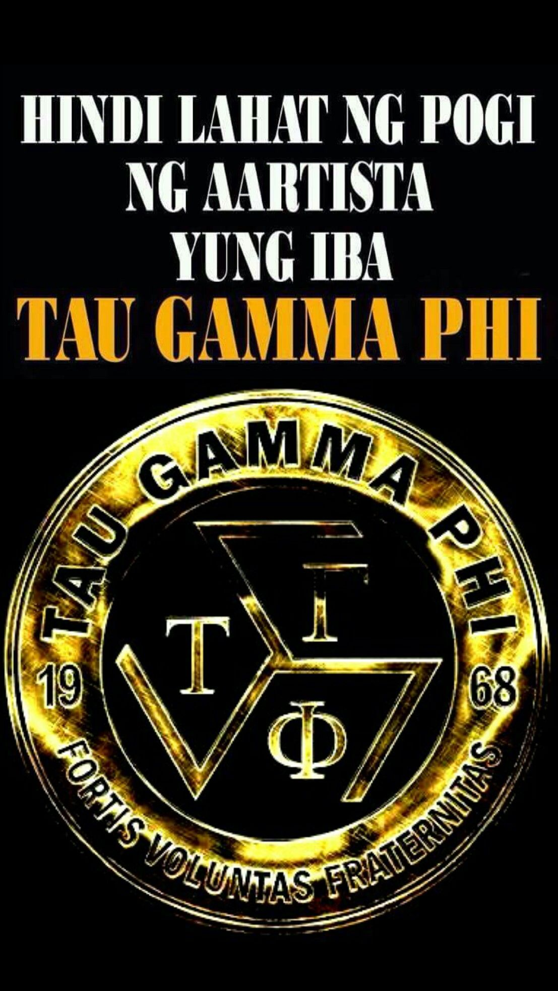 Taugamma Triskelion Black Wallpaper Android Iphone 49 Tau Gamma Star Of David Tattoo Gamma Phi