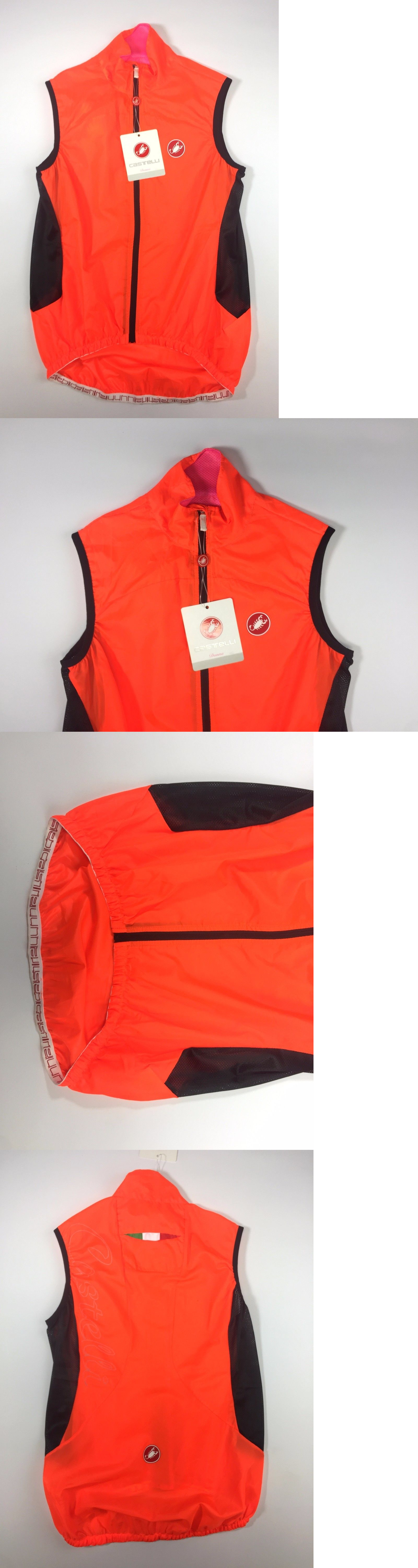 Vests 177856  Castelli Women S Velo Vest Size Small Orange New -  BUY IT 74eac61be