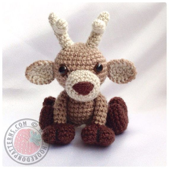Crochet Pattern Only - Noel the Reindeer **This listing is for the ...