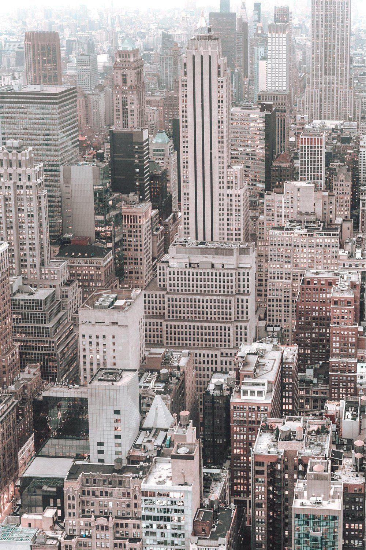 New York Panorama Wallpaper Black White City Design Muralswallpaper Black And White Picture Wall Black And White Photo Wall White Aesthetic Photography