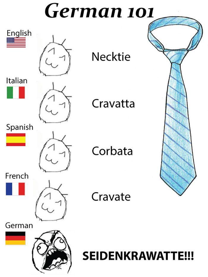 50 Hilarious Reasons Why The German Language Is The Worst English Language Jokes Language Jokes English Jokes