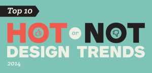 Graphic and web design trends for 2014