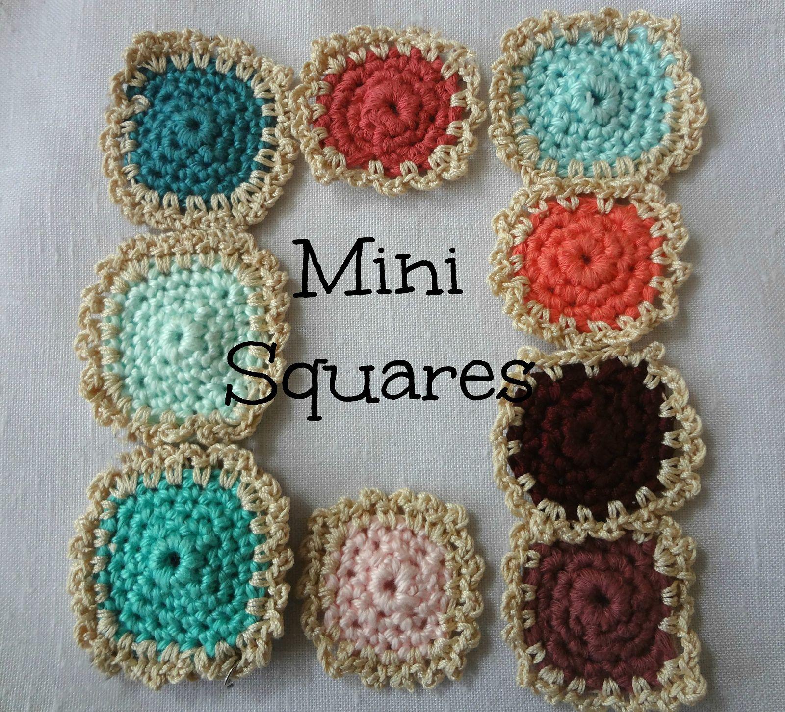 Mini Squares Motif By Maya Kuzman - Free Crochet Pattern - (ravelry ...
