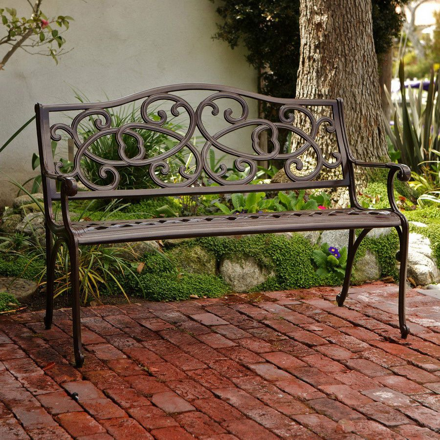 Shop Best Selling Home Decor 48 42 In L Patio Bench At Lowes Com