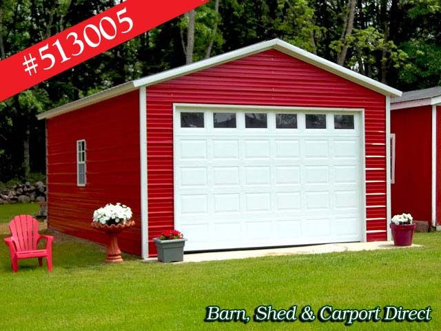 Storage Shed with Carport | Storage Garages : Barn, Shed ...