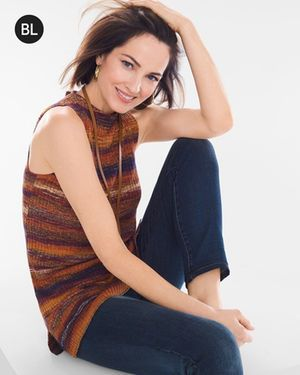 Black Label Spacedye Shell Sweater