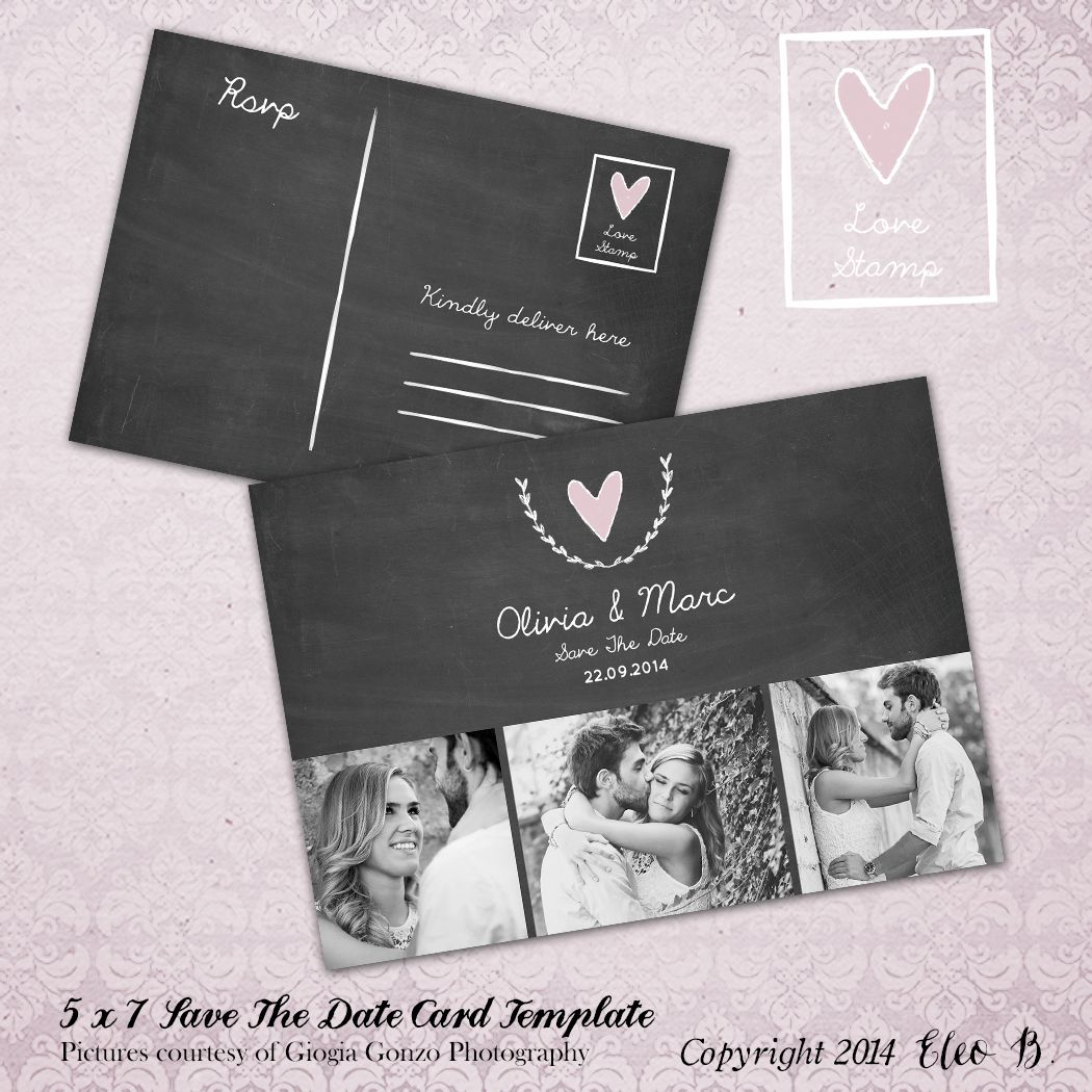 save the date postcard save the date template wedding invitation