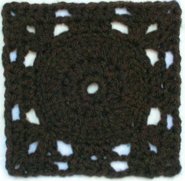 Free crochet afghan square pattern: Elysium | Crochet patterns to ...