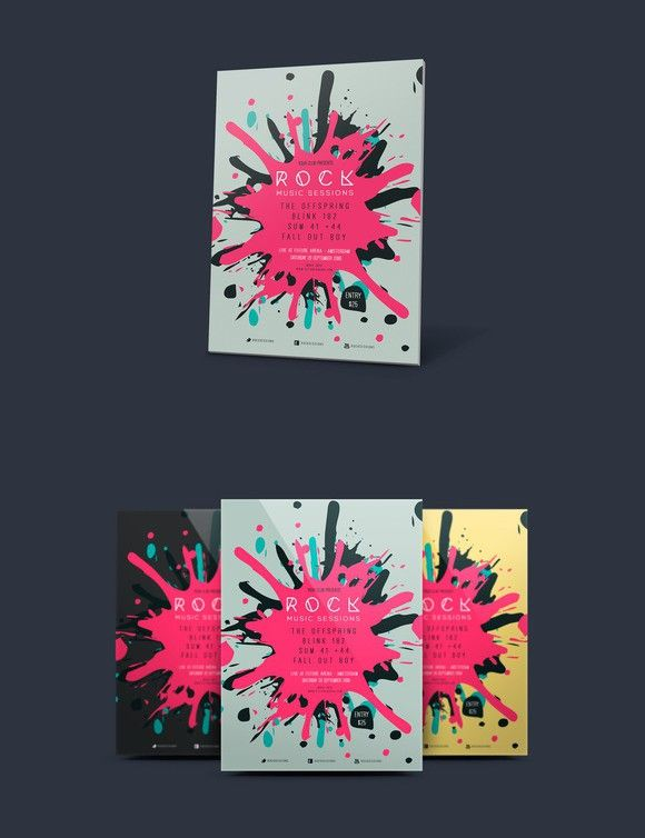 splash flyer vol 03 flyer template template and graphics
