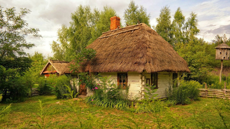 Uroczysko Zaborek Strzecha Modern Landscape Painting Oil Painting Inspiration Modern Landscaping