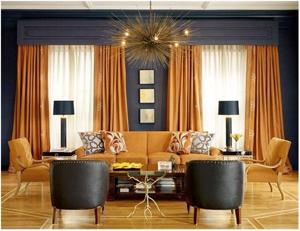 Living Room Design Ideas With Susanna Salk Geoffrey De Sousa How To Decorate Living Room Orange Interior Design Trendy Living Rooms