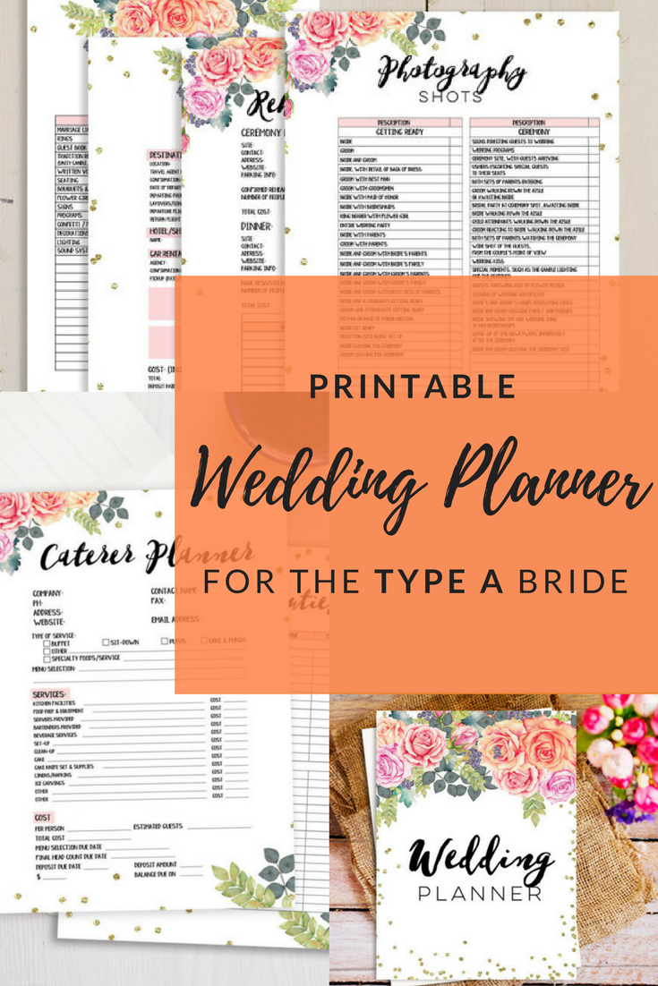 This gorgeous wedding planner will be your saving grace throughout