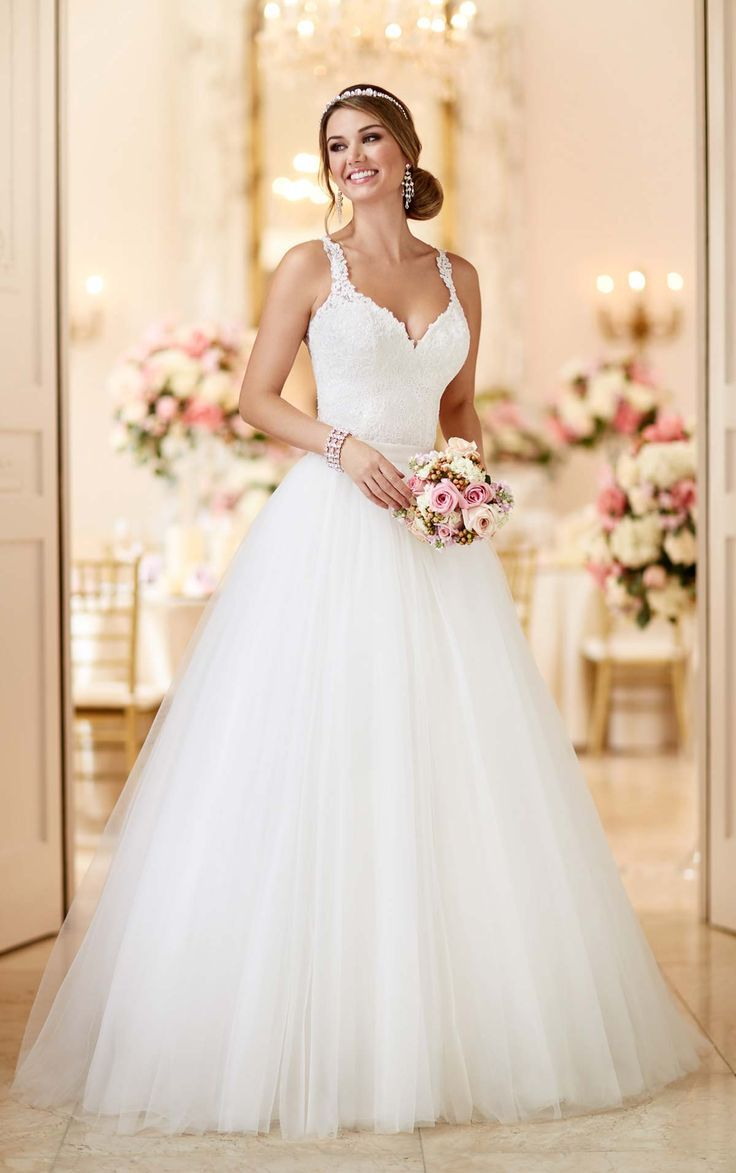 Find This Pin And More On Tulle Wedding Dresses