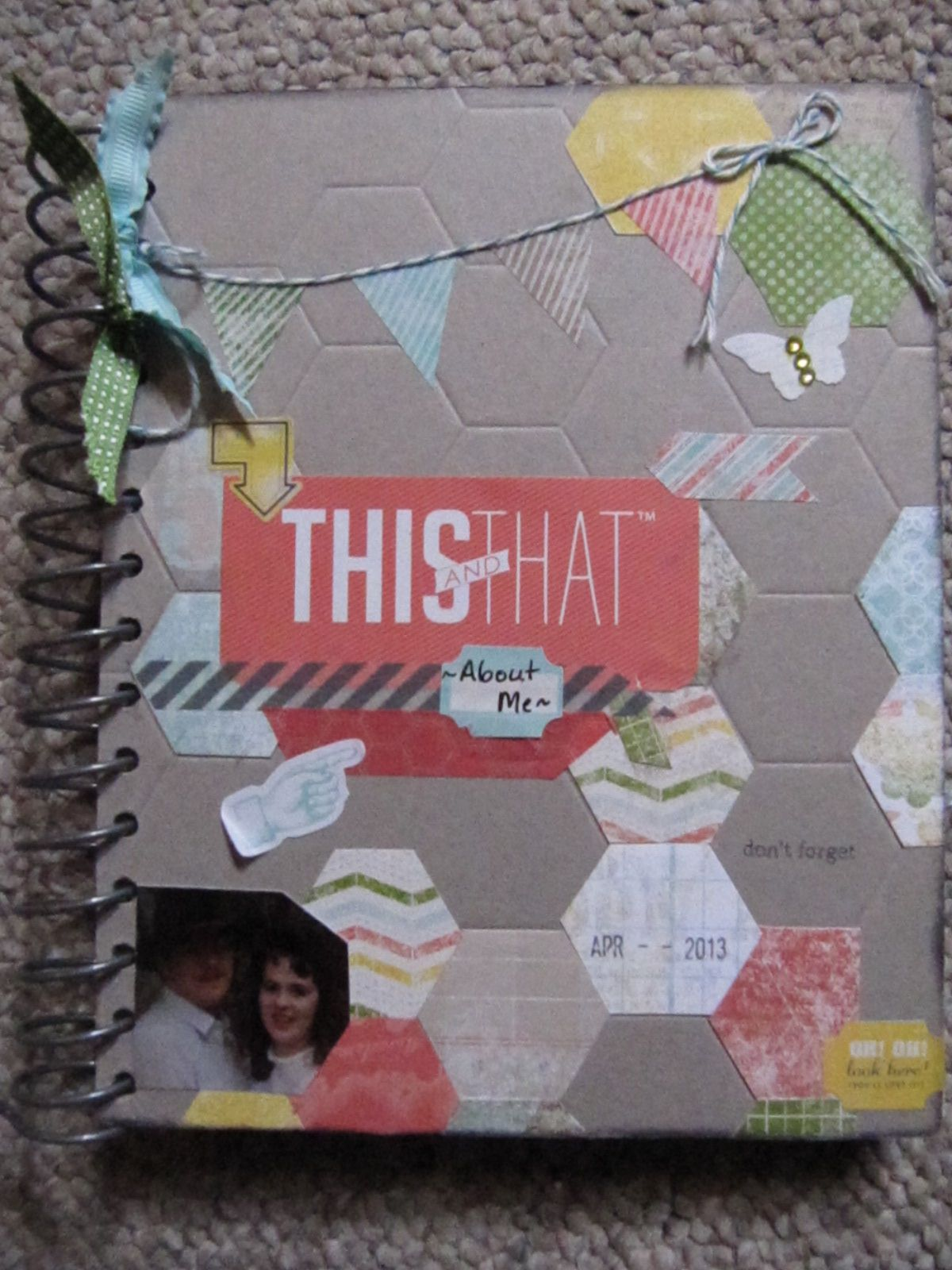 My Stampin' Up! This & That Epic Day Journal to keep track of my favorite photos, inspirational quotes & Scriptures.