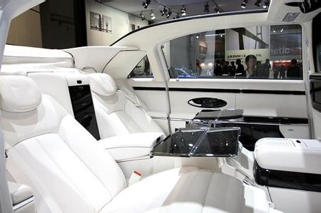 maybach 62s landaulet interior - google search | swag | pinterest