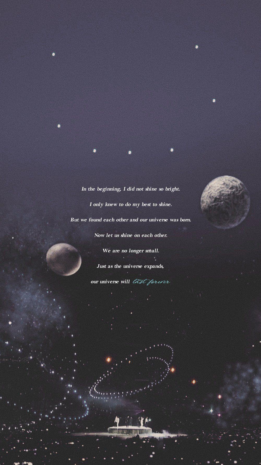 Aesthetic dark bts quotes wallpaper