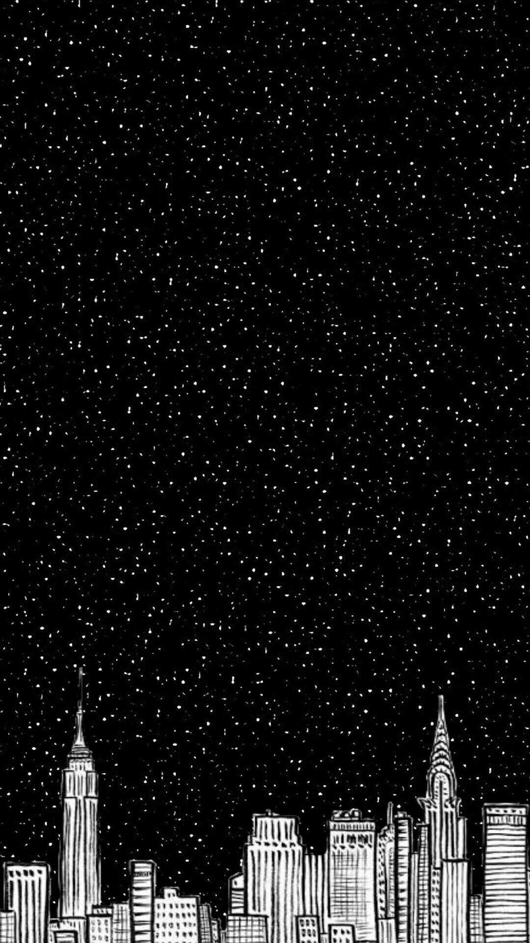 City Views Black Phone Wallpaper Wallpaper Space Lock Screen Wallpaper Iphone