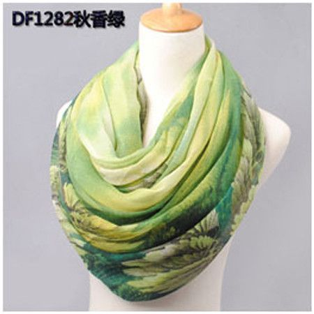 SCARF cotton voile scarves autumn and winter scarf shawl print