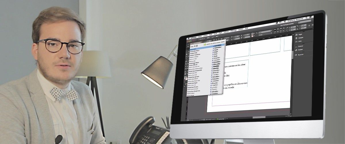 Tuto InDesign : Créer et positionner des blocs de texte
