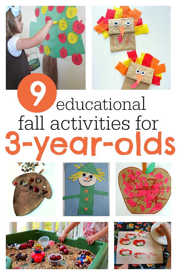 9 MUSTDO Fall Activities For 3YearOlds Educational