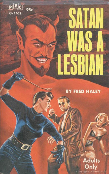 A fantastically overblown image that equates homosexuality with evil