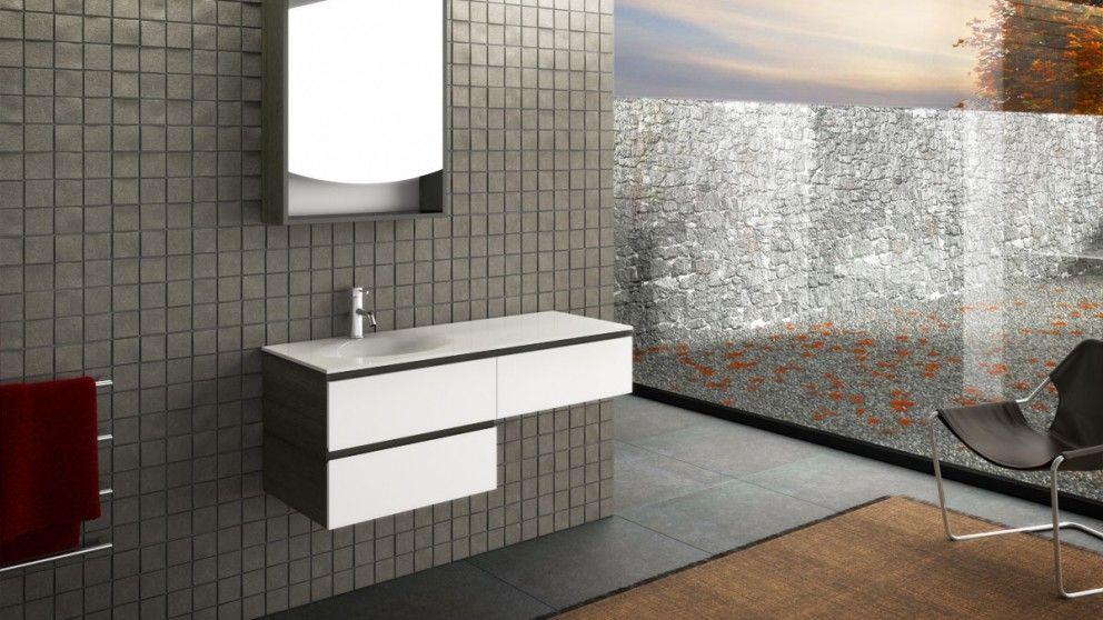 Vanity Bathroom Harvey Norman timberline pure bliss 1200 wall hung vanity - bathroom vanities