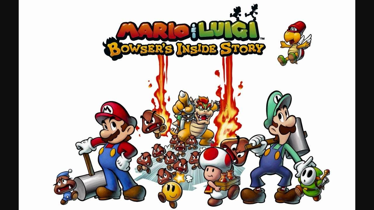 Inspirational Mario And Luigi Bowser S Inside Story Wallpaper